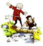 John Calvin and Thomas Hobbes