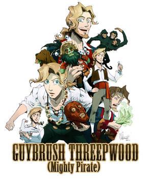 Six Guybrushes