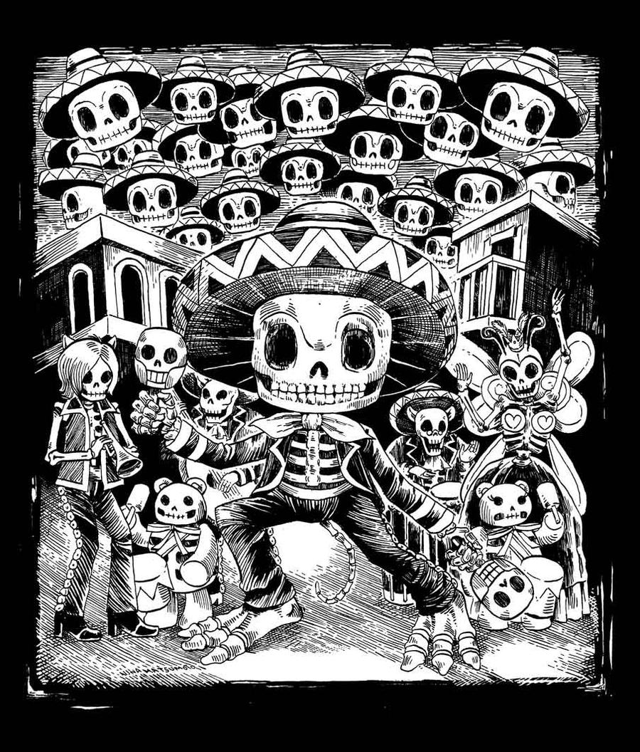 Samba De Los Muertos by spacecoyote on DeviantArt