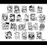 Super Smash Brothers Brush Art 2