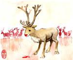 Poor Rudolph by spacecoyote