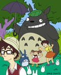 Dysfunctional Neighbour Totoro