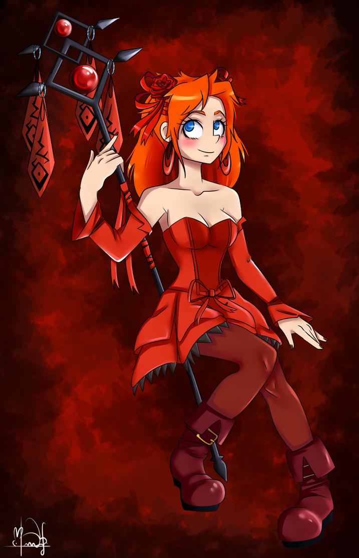 Natalie from Epic Battle Fantasy by Shoko-art