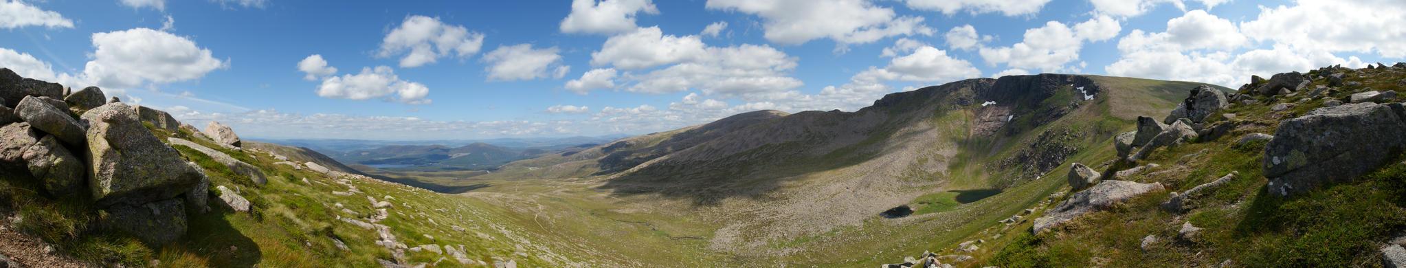 Scotland panorama by RickJuffermans87