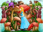 Coloring contest entry - Alice