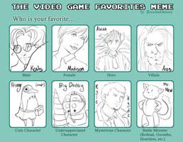 Favorite videogame meme by BrokenApollo