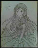 Erza scarlet by saeedamahmood