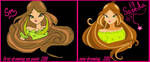 flora winx club by saeedamahmood