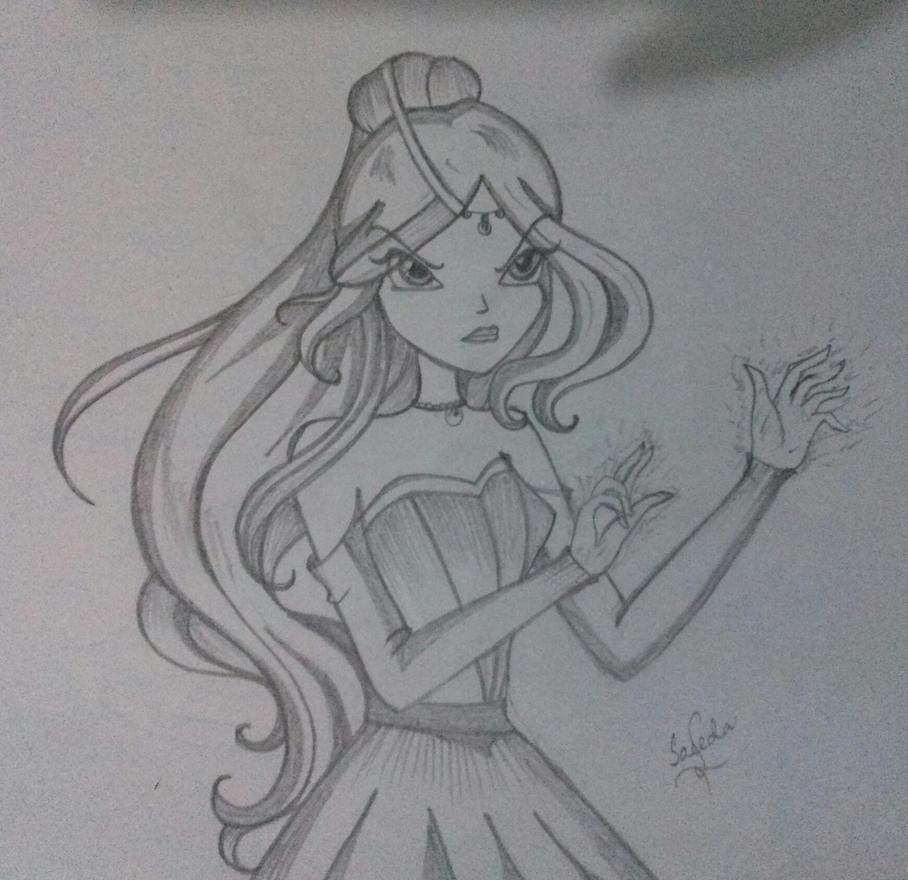 Bellatrix by saeedamahmood
