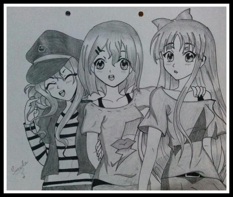 tsumugi,yui and mio by saeedamahmood