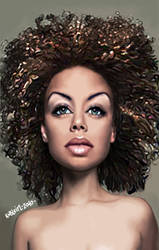 Hair Beauty I by koblein