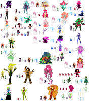 Crystal Gems Fusions 2 (UPDATE 08/06) by BFDIFan1234