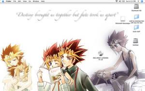 Yami and Yugi desktop by GozenYuji