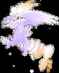 White Yang Pokemon - Colored