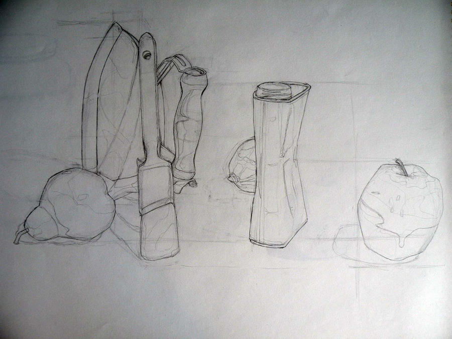 Using Lines In Drawing : Drawing i structural line by manganut01 on deviantart