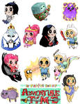 Adventure Time minis