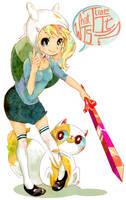Fionna and Cake by Pasuteru-Usagi