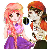 Tumblr PB and Marcy by Pasuteru-Usagi