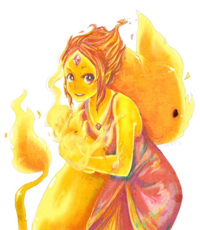 Flame Princess by Pasuteru-Usagi