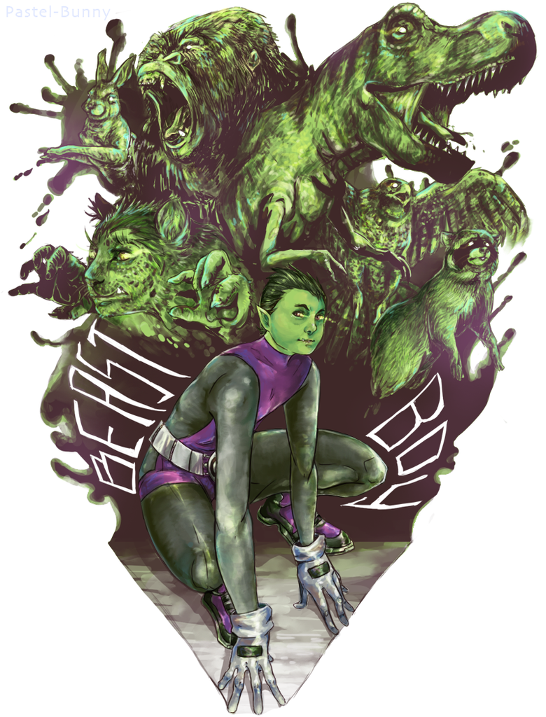Beast Boy by Pasuteru-Usagi