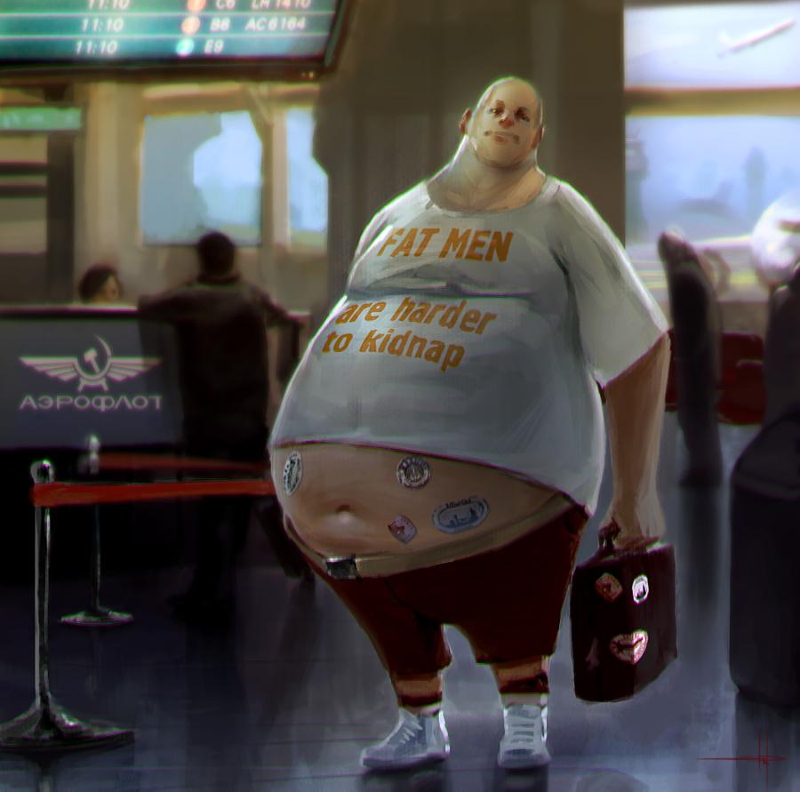 Very Fat Guy 121
