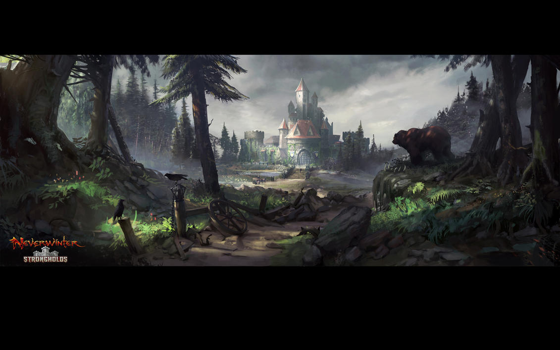 neverwinter how to get stronghold