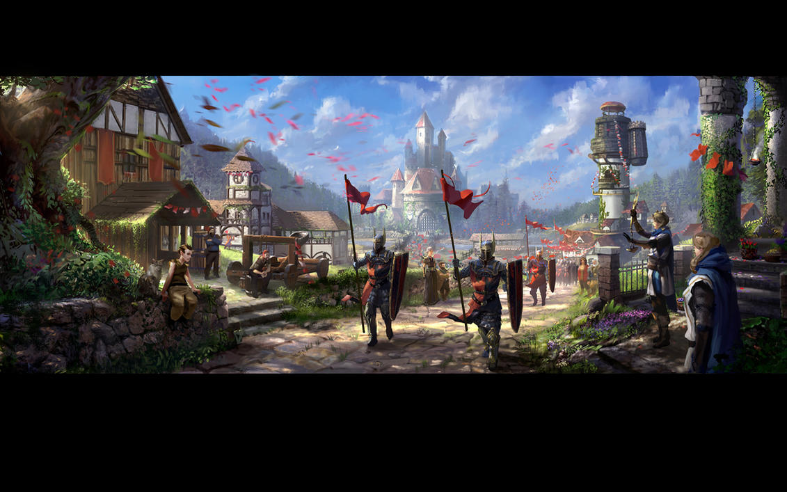 Neverwinter Stronghold Stage4 Final by GreyHues