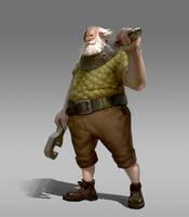 Dwarf by GreyHues