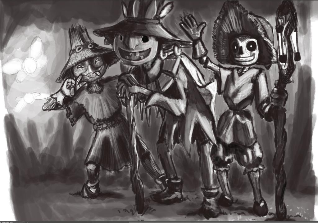 Skullkids by AmadeuStudios