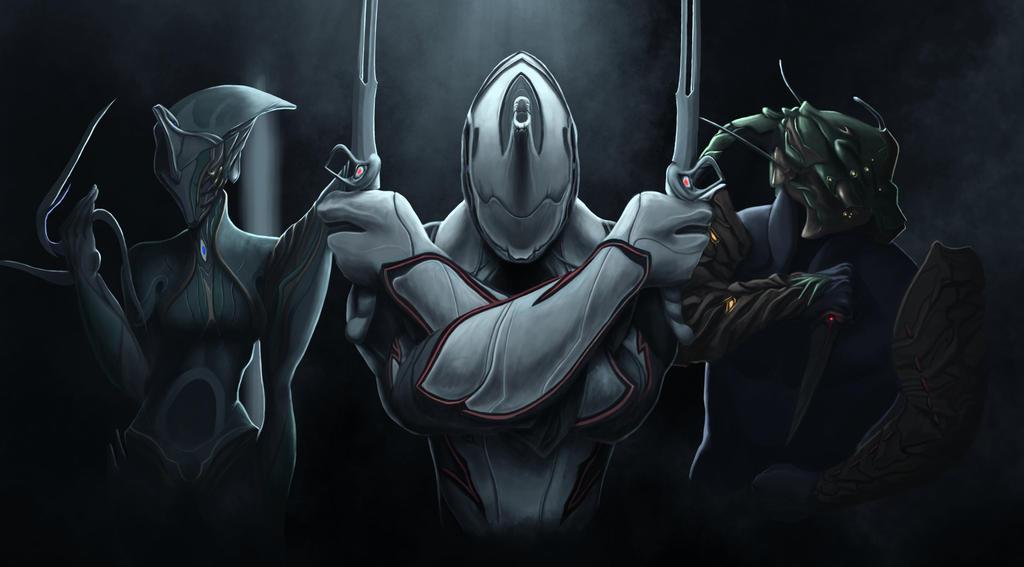 Warframe - Excalibur, Banshee, Ash update 2 by arielmc2