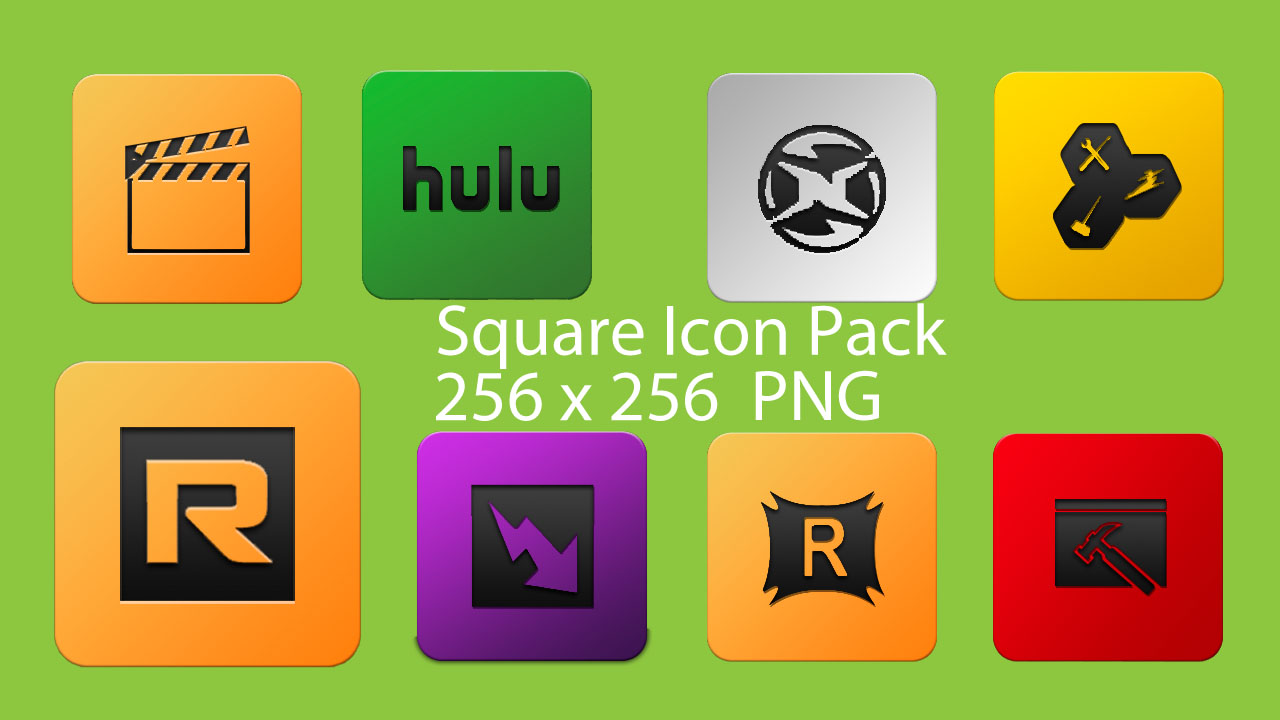 square icon pack by tplahmer customization icons dock icons more to ...