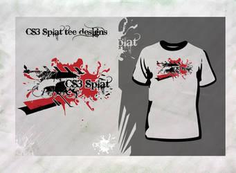 CS3 Splat Tee Design 02 by davelancel