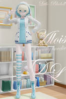 MMD: Alois (bunny hoodie) [DL] by LITTLE-BLUEBELL