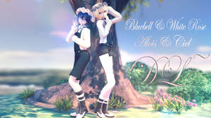 MMD: Bluebell Alois and White Rose Ciel [DL] by LITTLE-BLUEBELL