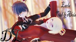 MMD: Earls [Ciel and Alois] DL by LITTLE-BLUEBELL