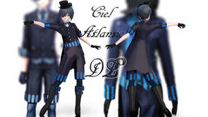 MMD: Atlantic Ciel [UPDATED DL] by LITTLE-BLUEBELL