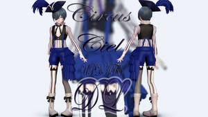 MMD: Book of Circus Ciel UPDATE [DL] by LITTLE-BLUEBELL