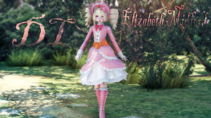 MMD: Elizabeth Midford [random outfit] [DL] by LITTLE-BLUEBELL