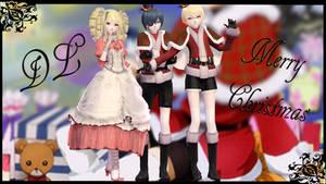 MMD || Black Butler: Christmas 1800s [DL] by LITTLE-BLUEBELL