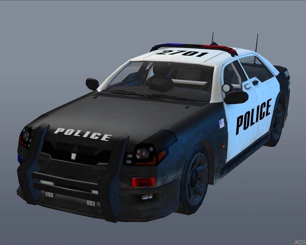 LAPD CAR [Black Ops II] by Goreface13