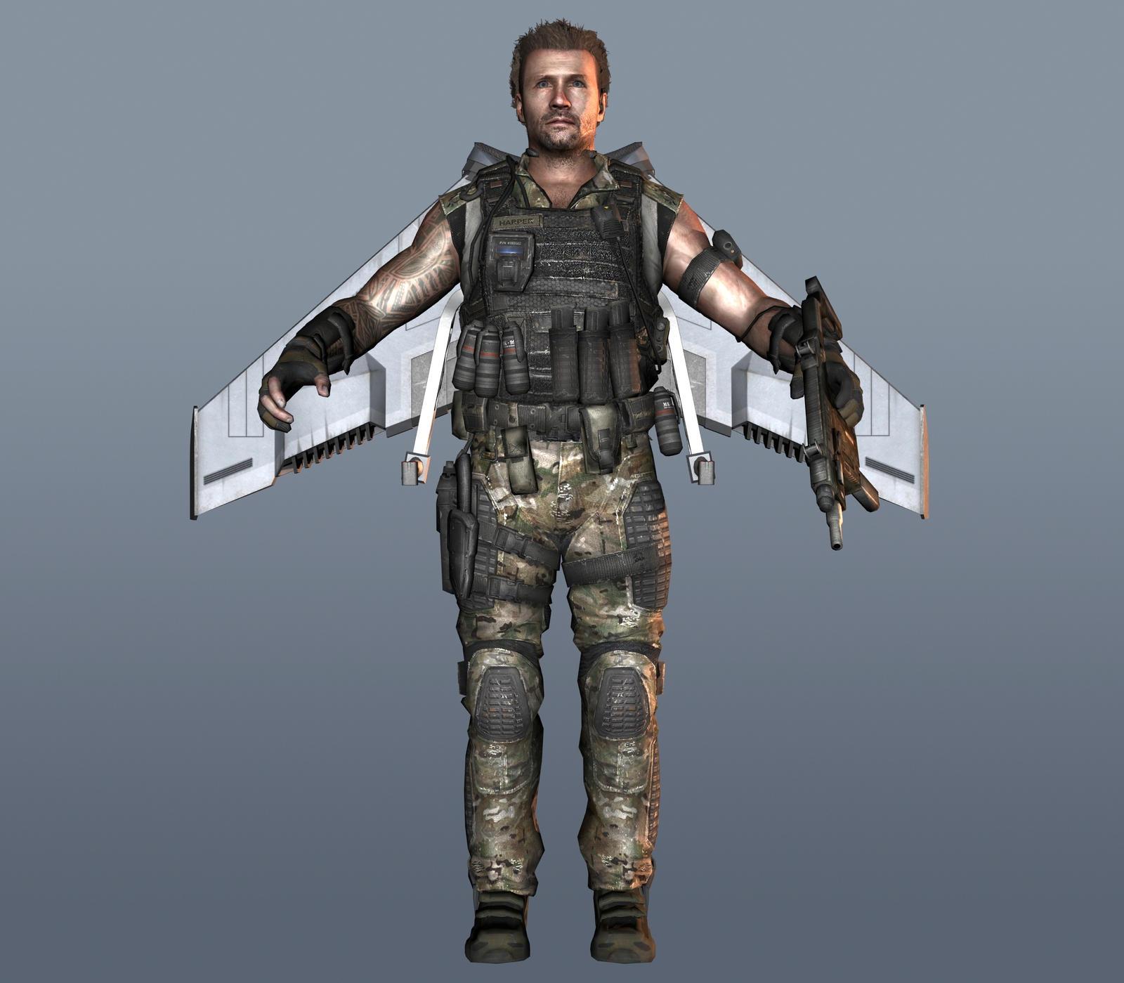 HARPER V1 [Black Ops II] by Goreface13