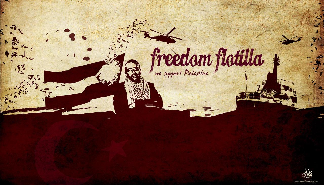 Freedom flotilla by Telpo