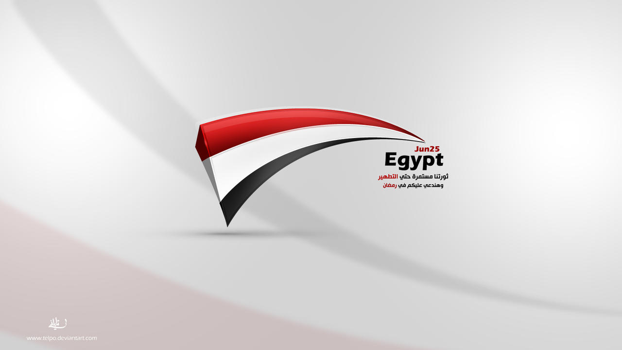 Egypt Revolution by Telpo