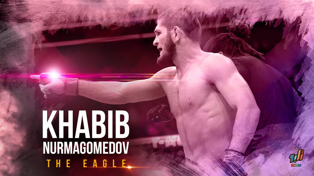 The Eagle Khabib Nurmagomedov by Telpo