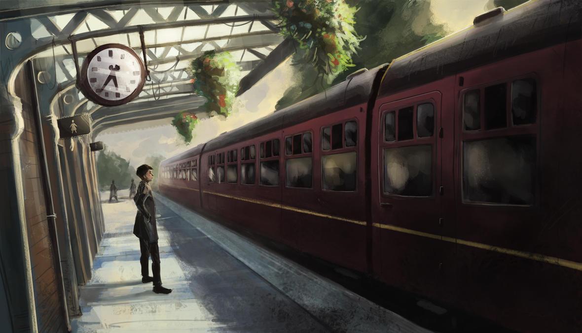 Loughborough Rail by AnnaHollinrake