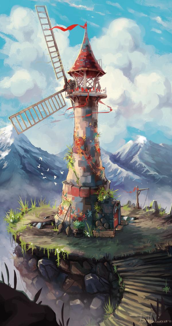 Windblown by AnnaHollinrake