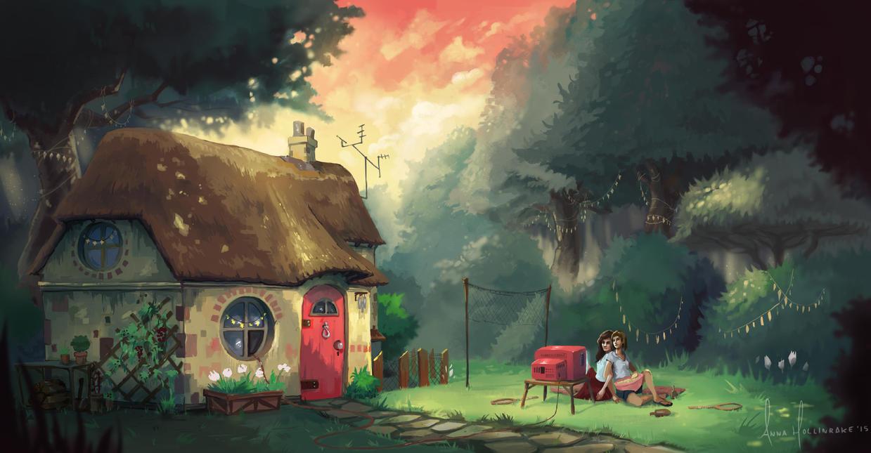 Popcorn Hour by AnnaHollinrake