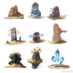 Desert Waystones