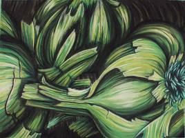 AP Art: Garlic by Raxy-werecat