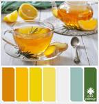 Lemon tea Colorpallet